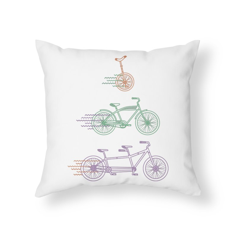 Here We Go Home Throw Pillow by Kat Manor's Artist Shop