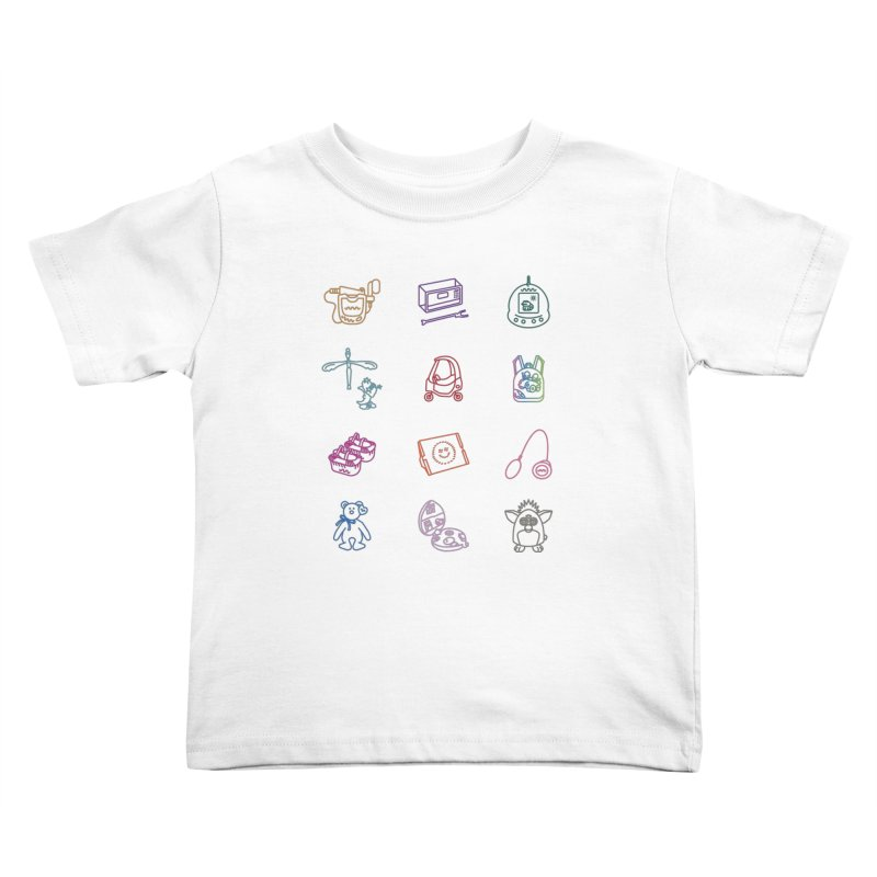 Throwback Kids Toddler T-Shirt by Kat Manor's Artist Shop