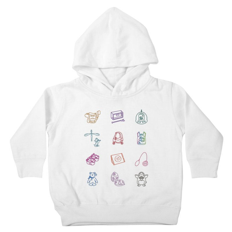 Throwback Kids Toddler Pullover Hoody by Kat Manor's Artist Shop