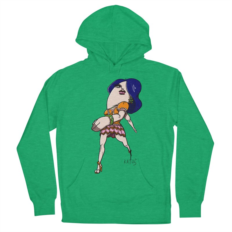 kato5sLady 1 Women's French Terry Pullover Hoody by kato5's Shop