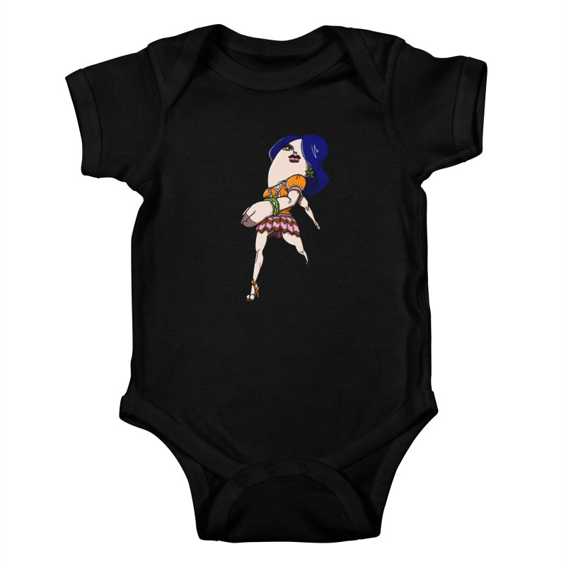 kato5sLady 1 Kids Baby Bodysuit by kato5's Shop