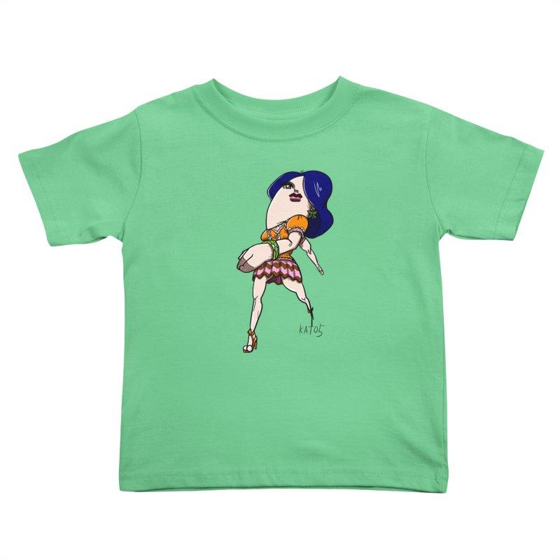 kato5sLady 1 Kids Toddler T-Shirt by kato5's Shop