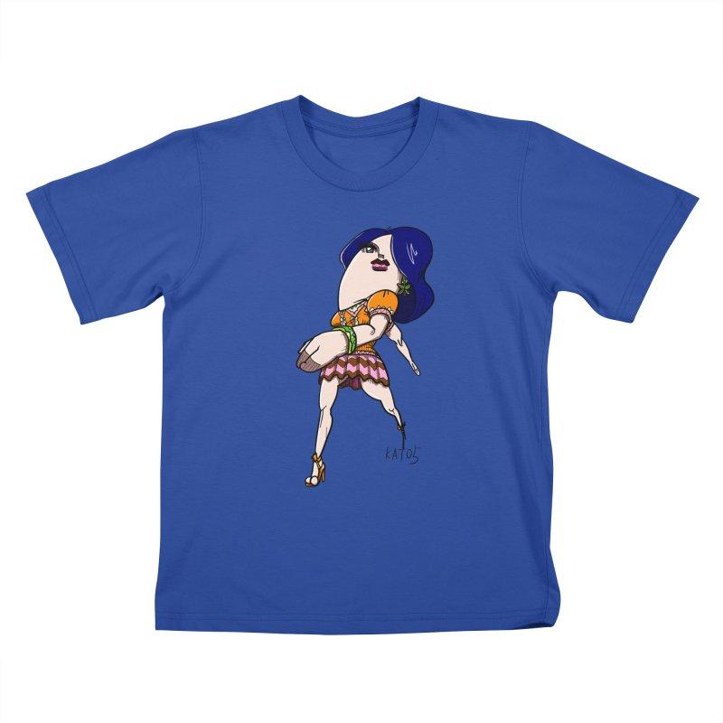 kato5sLady 1 Kids T-Shirt by kato5's Shop