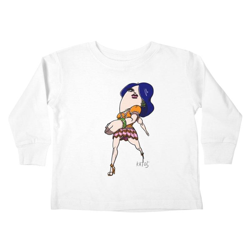 kato5sLady 1 Kids Toddler Longsleeve T-Shirt by kato5's Shop