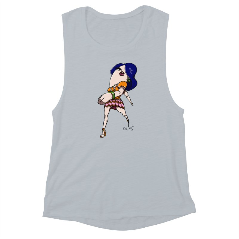 kato5sLady 1 Women's Muscle Tank by kato5's Shop