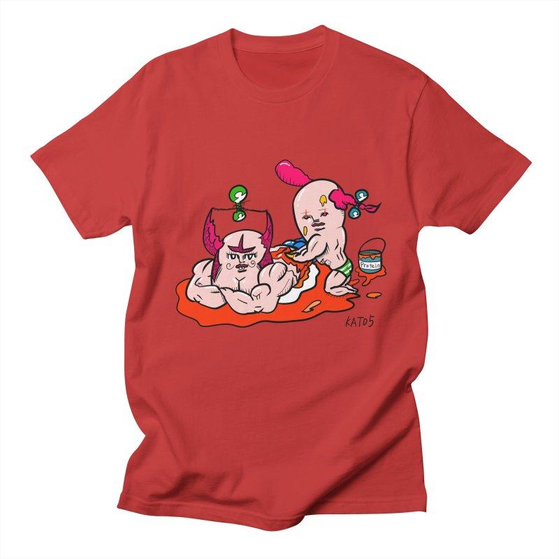 MuscleCaste 1 Men's Regular T-Shirt by kato5's Shop