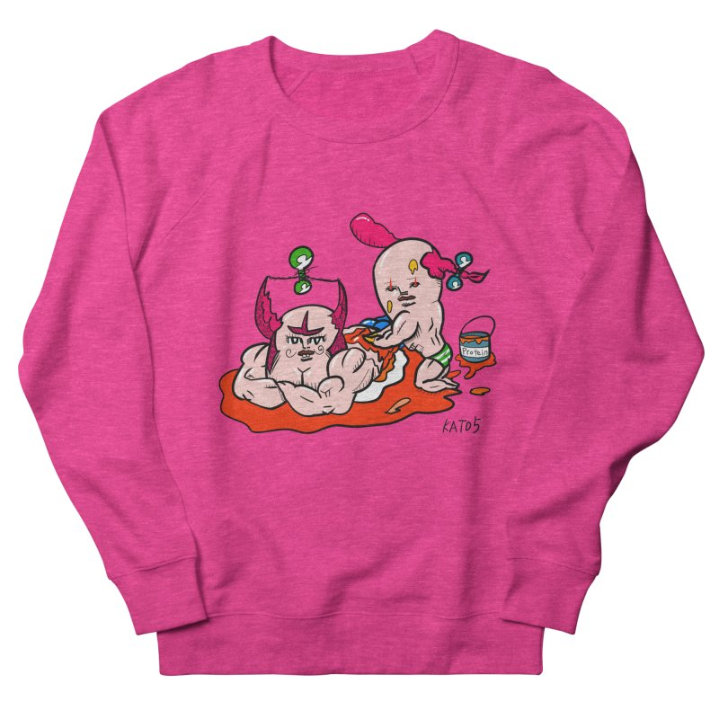 MuscleCaste 1 Women's French Terry Sweatshirt by kato5's Shop