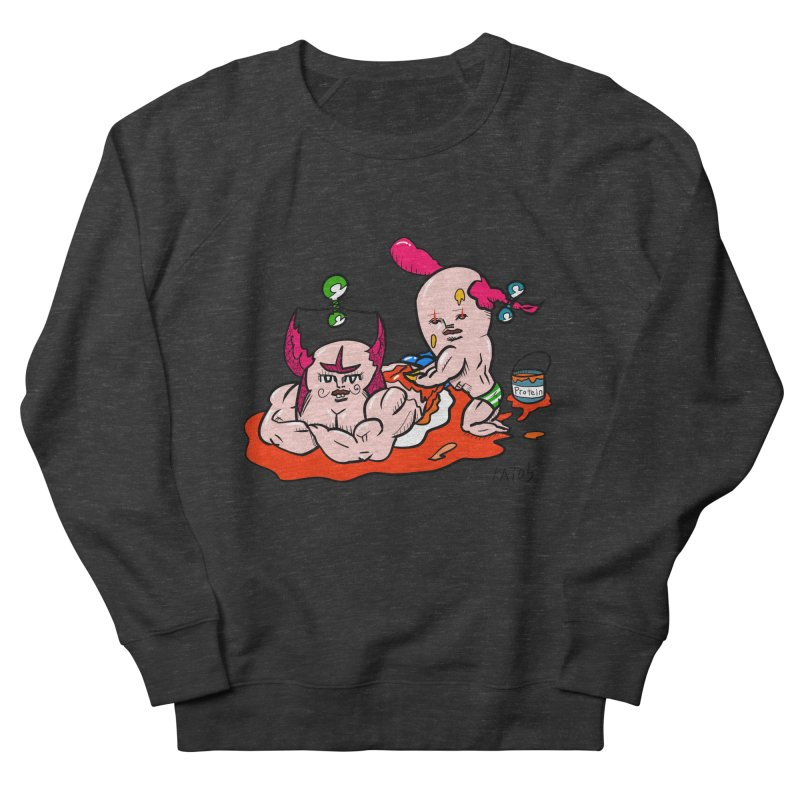 MuscleCaste 1 Men's French Terry Sweatshirt by kato5's Shop