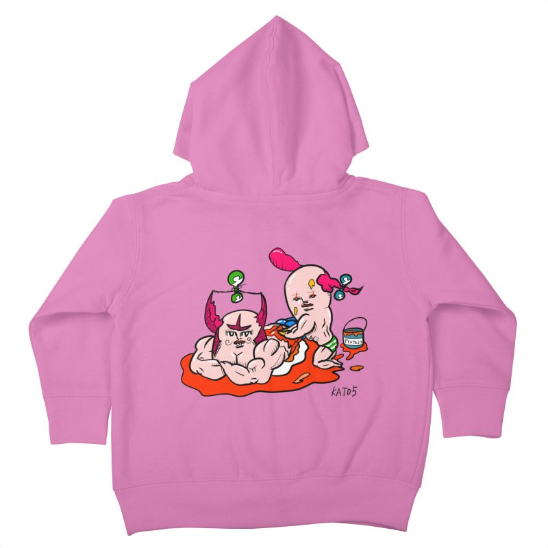 MuscleCaste 1 Kids Toddler Zip-Up Hoody by kato5's Shop