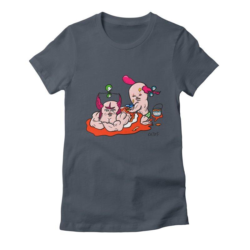 MuscleCaste 1 Women's T-Shirt by kato5's Shop