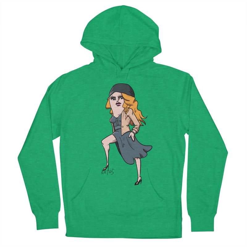 kato5sLady 2 Women's French Terry Pullover Hoody by kato5's Shop