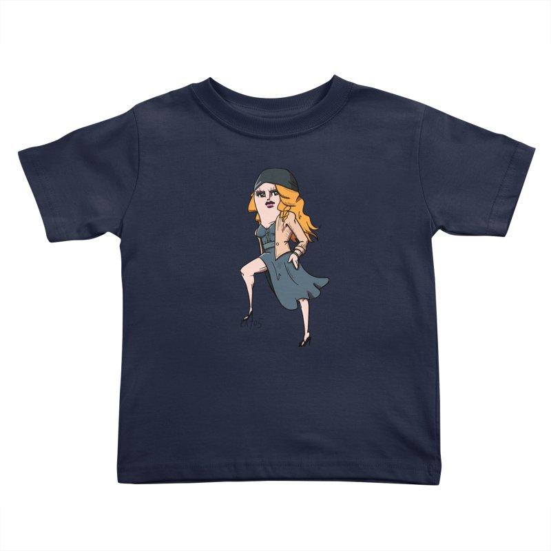 kato5sLady 2 Kids Toddler T-Shirt by kato5's Shop