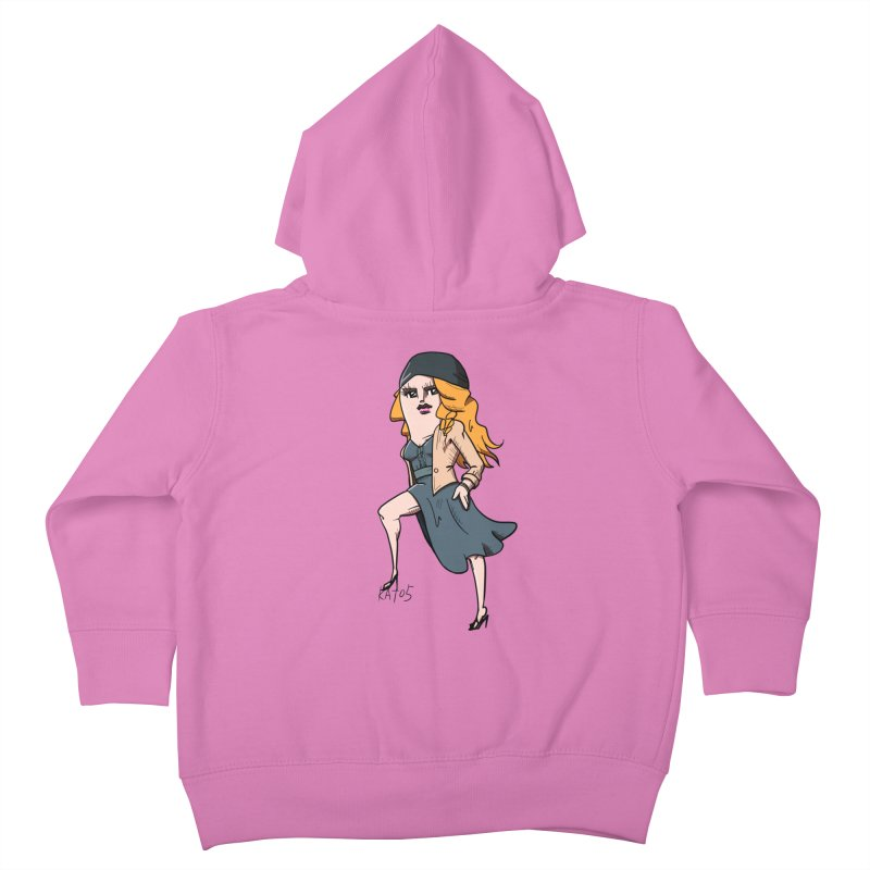 kato5sLady 2 Kids Toddler Zip-Up Hoody by kato5's Shop