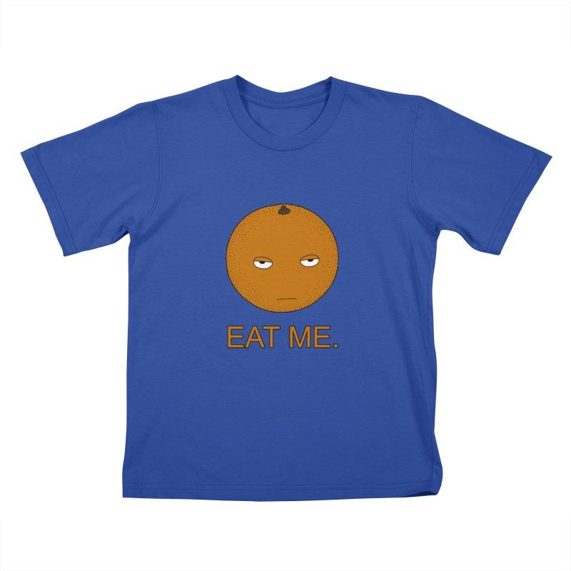 Eat Me Kids T-Shirt by KAUFYSHOP
