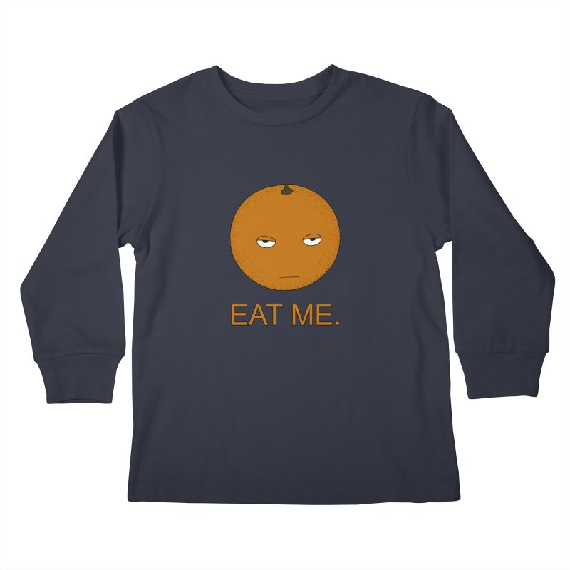 Eat Me Kids Longsleeve T-Shirt by KAUFYSHOP