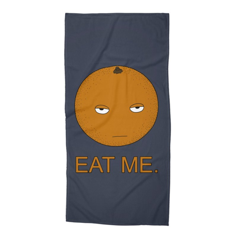 Eat Me Accessories Beach Towel by KAUFYSHOP