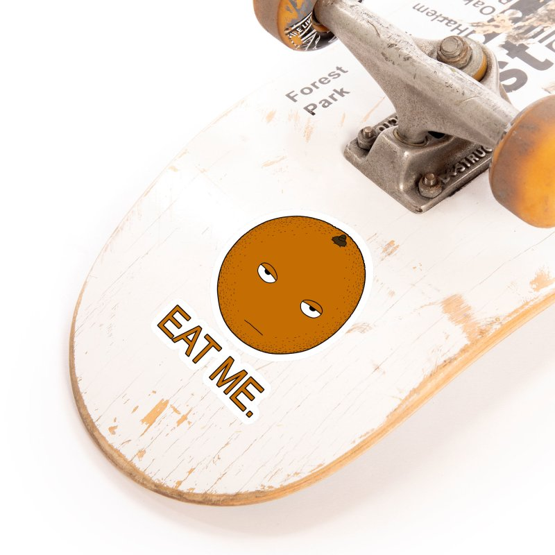 Eat Me Accessories Sticker by KAUFYSHOP