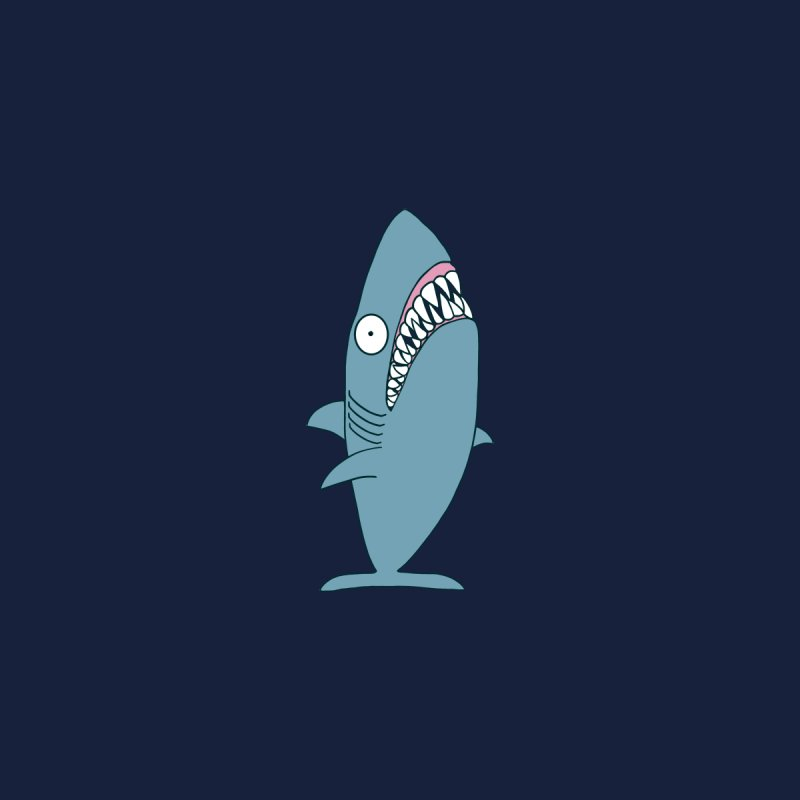 The Mighty Great White Shark Kids T-Shirt by KAUFYSHOP
