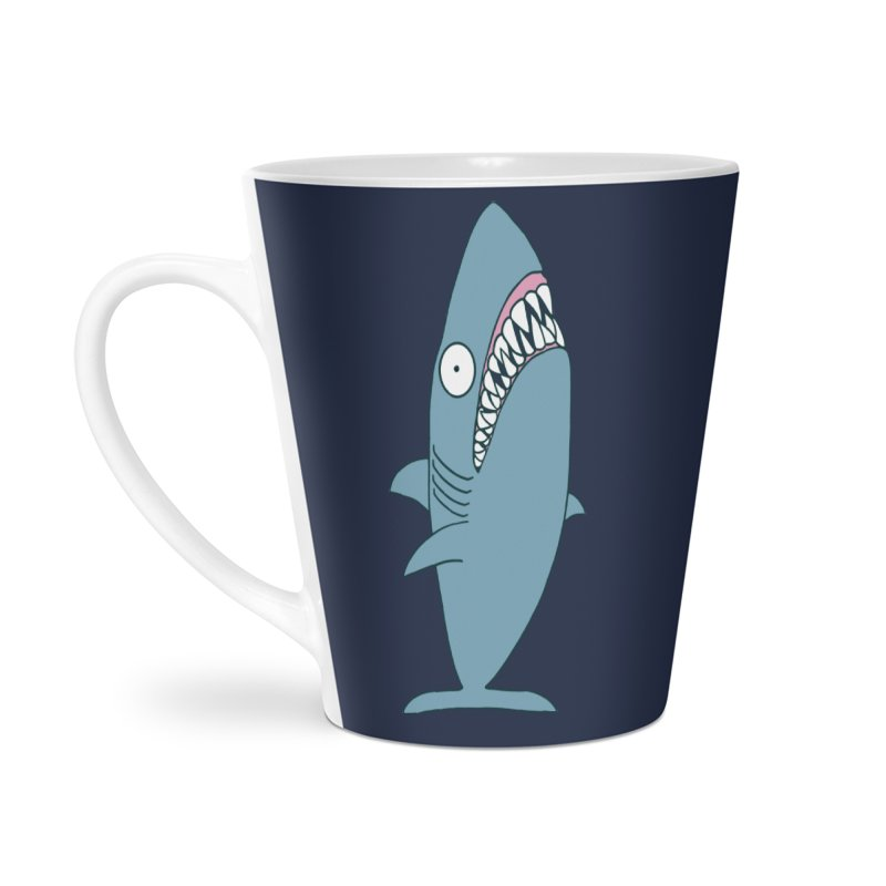 The Mighty Great White Shark Accessories Mug by KAUFYSHOP