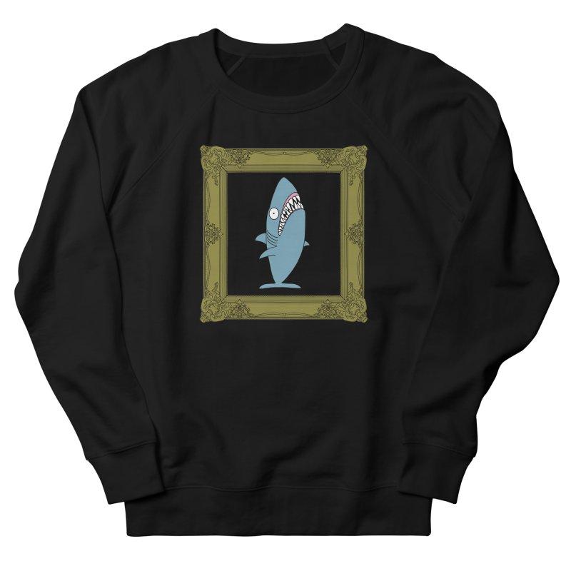 Portrait of a Great White Shark. Women's Sweatshirt by KAUFYSHOP