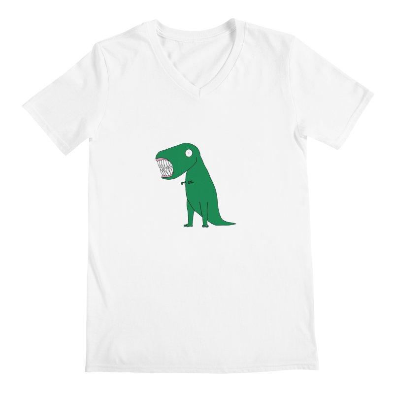 The Terrible Tyrannosaurus Rex Men's V-Neck by KAUFYSHOP