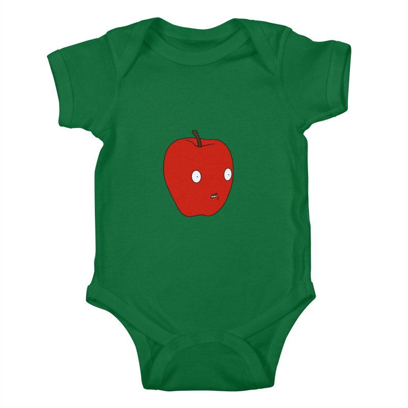 Apple Kids Baby Bodysuit by KAUFYSHOP