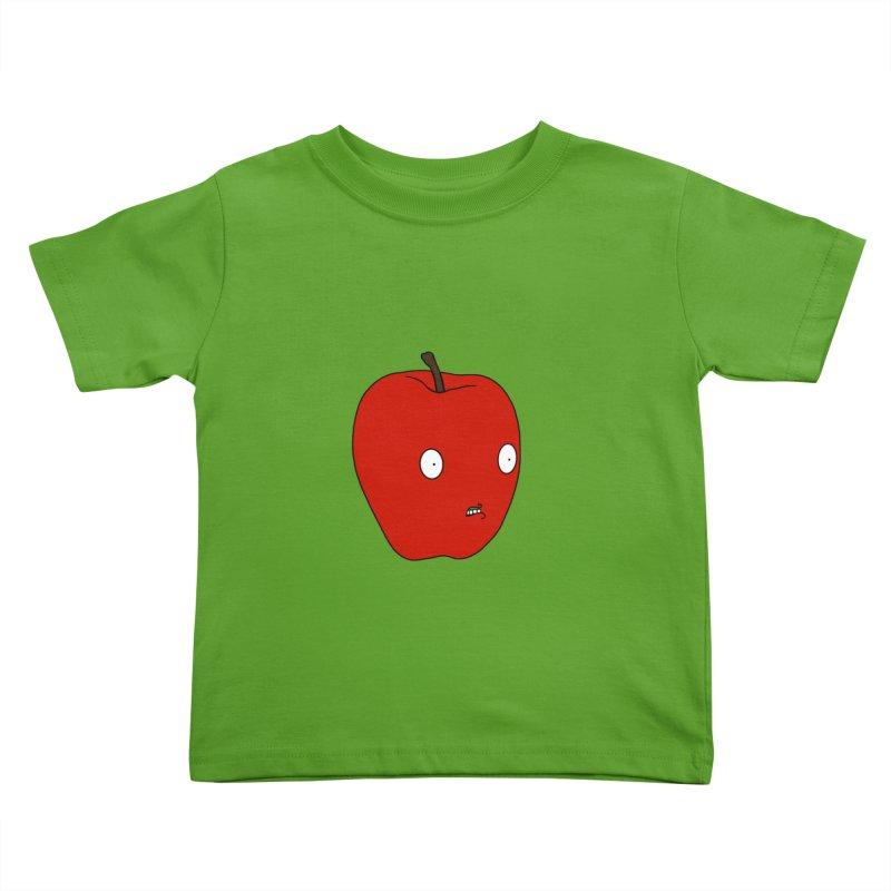 Apple Kids Toddler T-Shirt by KAUFYSHOP