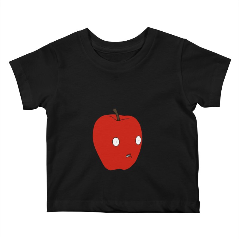 Apple Kids Baby T-Shirt by KAUFYSHOP
