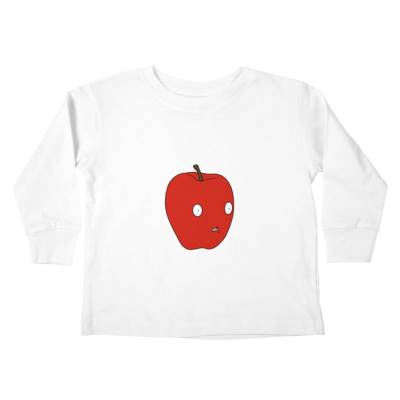 Apple Kids Toddler Longsleeve T-Shirt by KAUFYSHOP
