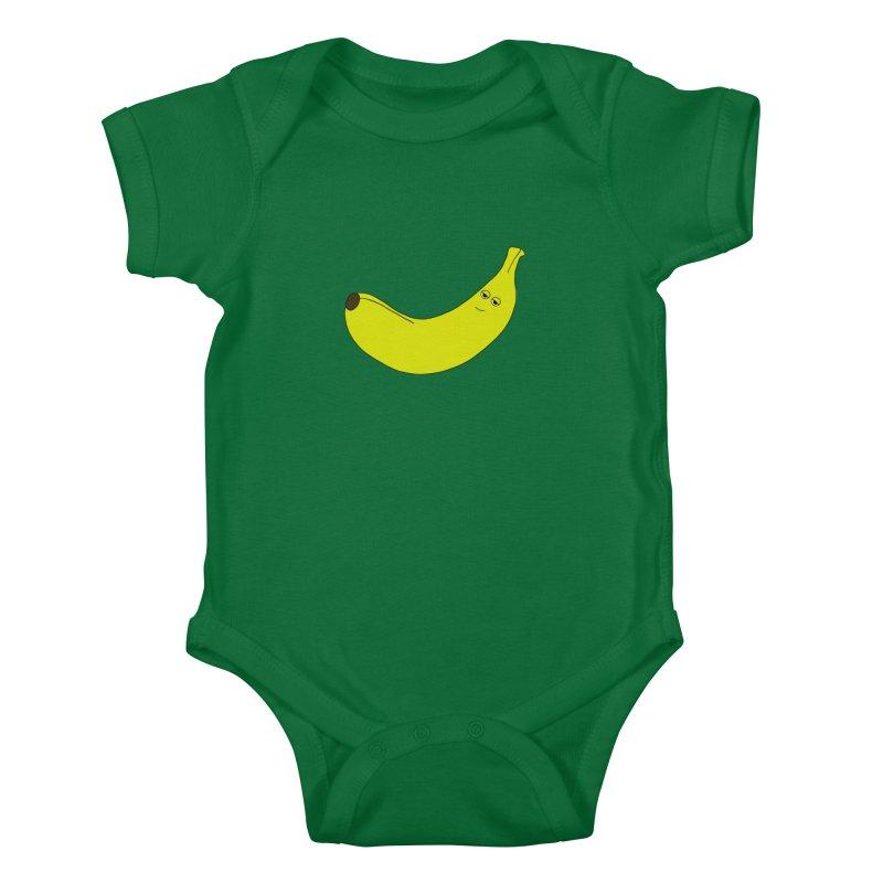 Banana Kids Baby Bodysuit by KAUFYSHOP