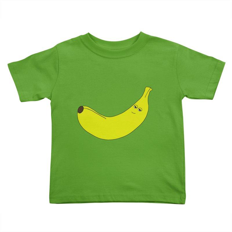 Banana Kids Toddler T-Shirt by KAUFYSHOP