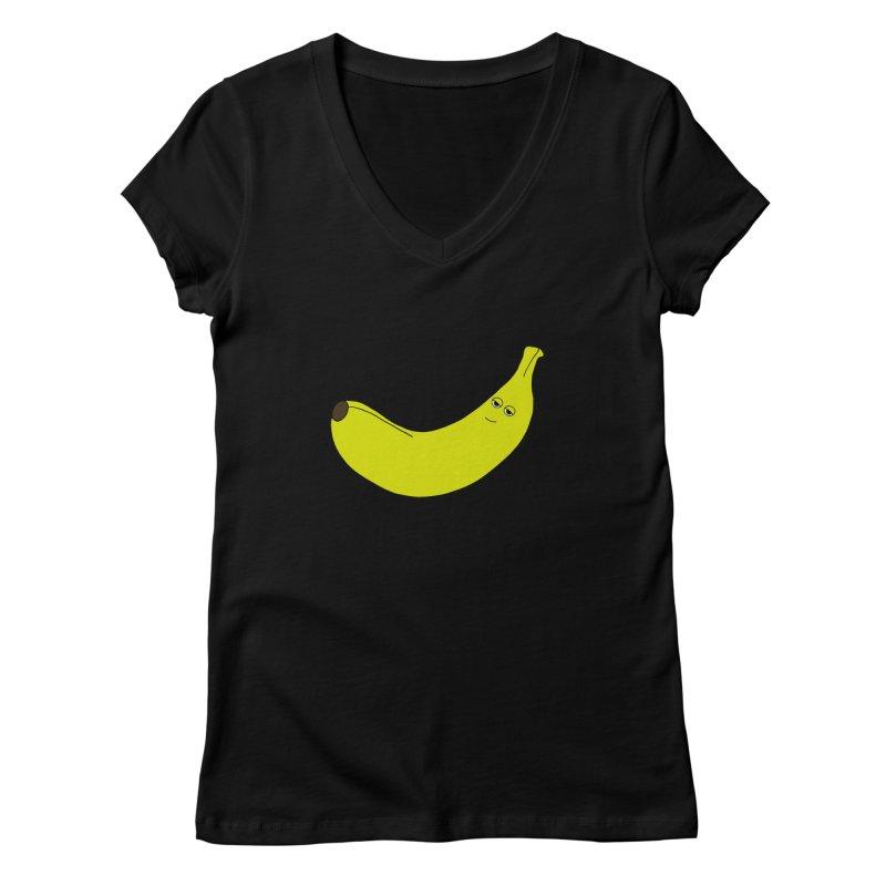 Banana Women's V-Neck by KAUFYSHOP
