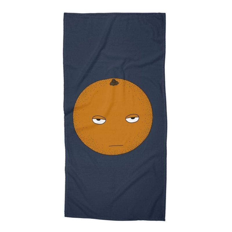 Orange Accessories Beach Towel by KAUFYSHOP