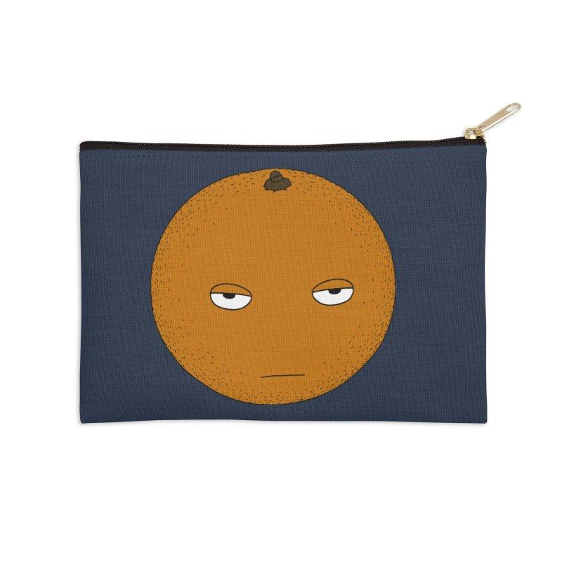 Orange Accessories Zip Pouch by KAUFYSHOP
