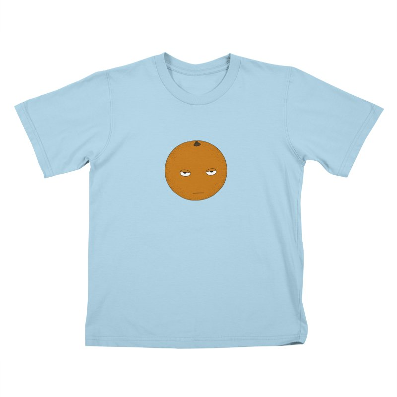 Orange Kids T-Shirt by KAUFYSHOP