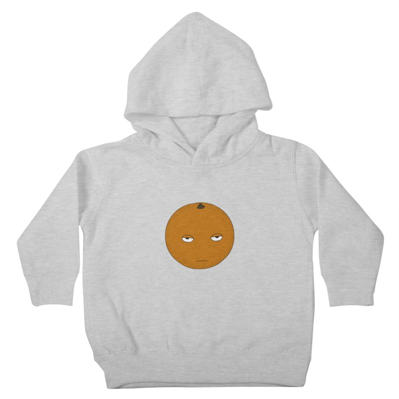 Orange Kids Toddler Pullover Hoody by KAUFYSHOP