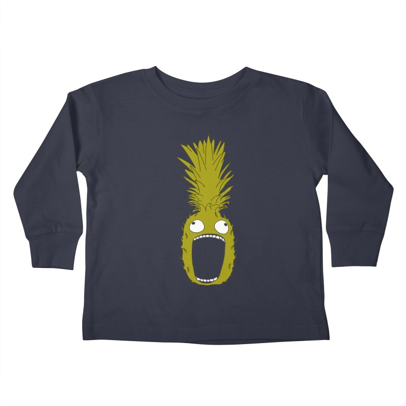 Pineapple Kids Toddler Longsleeve T-Shirt by KAUFYSHOP