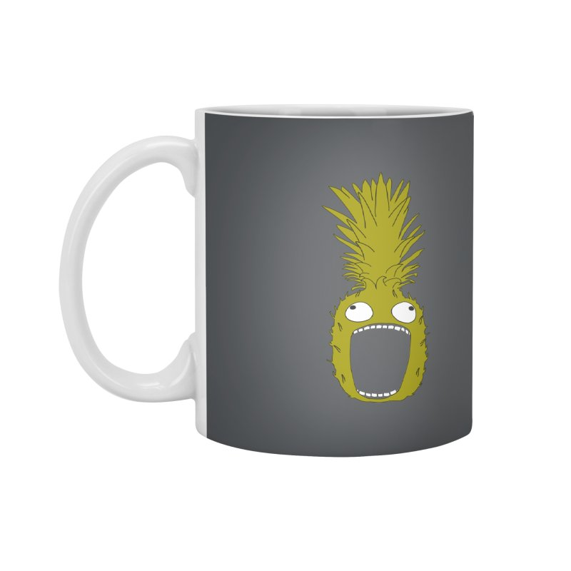 Pineapple Accessories Mug by KAUFYSHOP