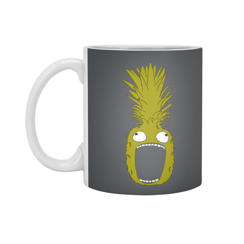 Pineapple Accessories Standard Mug by KAUFYSHOP