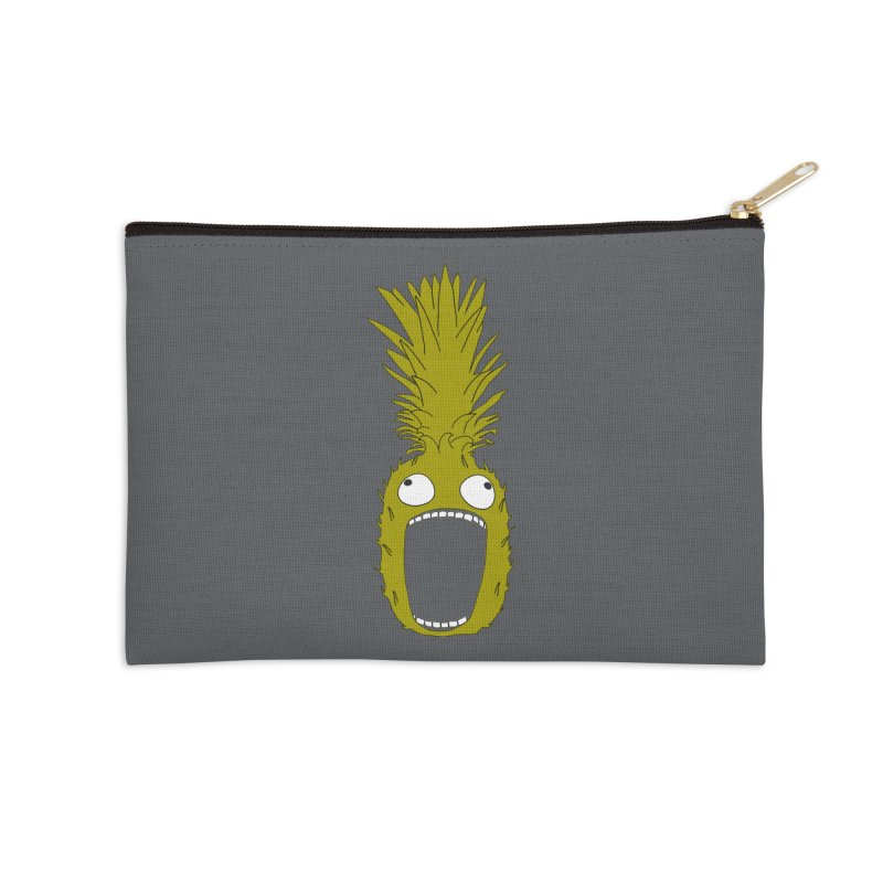 Pineapple Accessories Zip Pouch by KAUFYSHOP