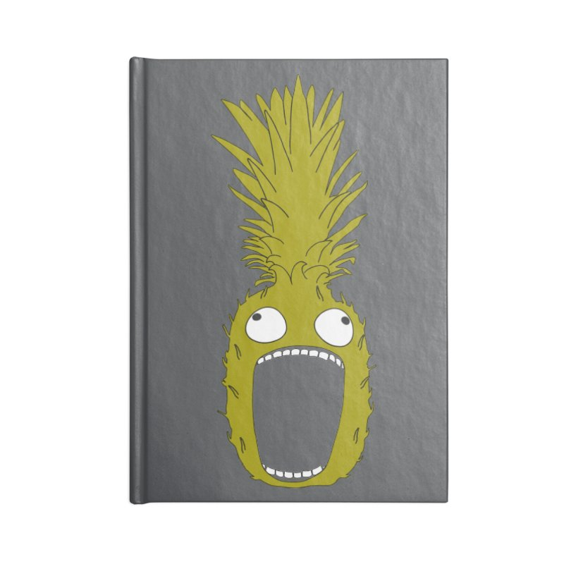 Pineapple Accessories Blank Journal Notebook by KAUFYSHOP