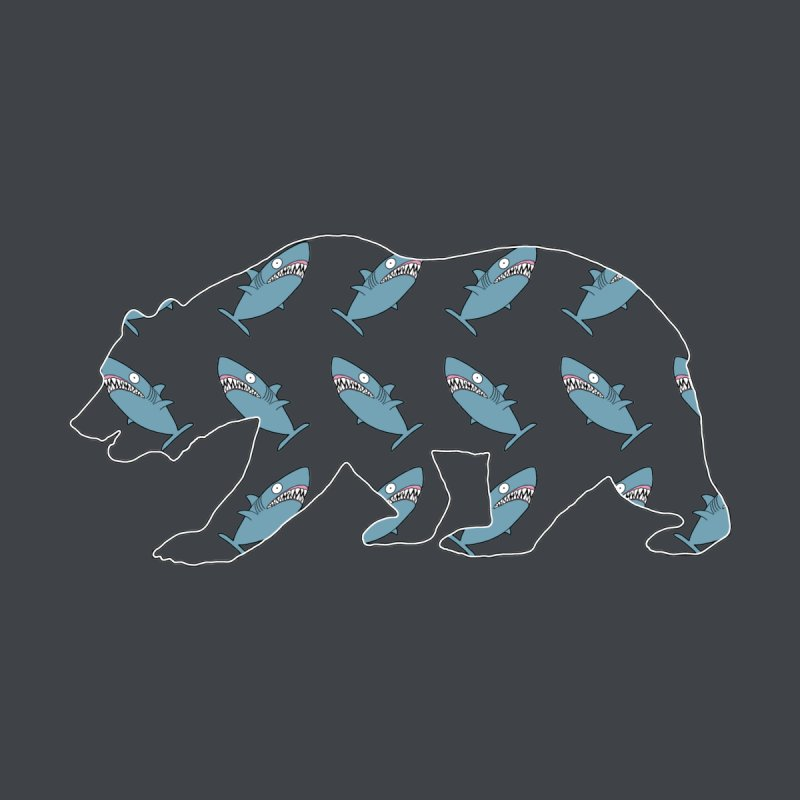 Shark Bear Women's T-Shirt by KAUFYSHOP