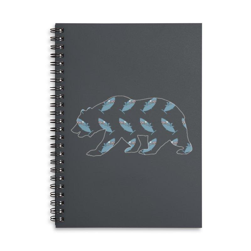 Shark Bear Accessories Notebook by KAUFYSHOP