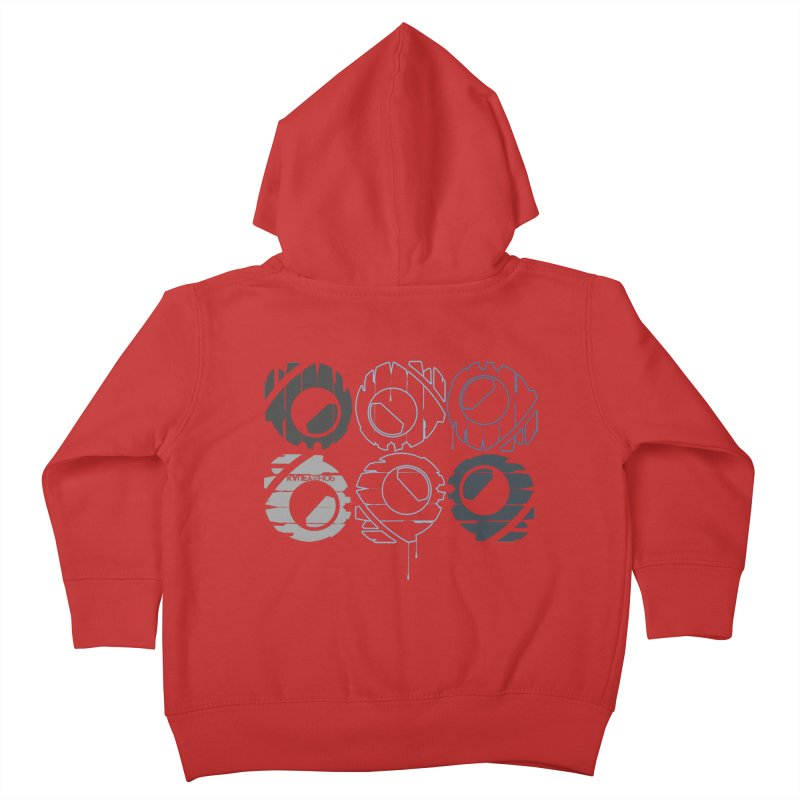 Graphic Design 02 Kids Toddler Zip-Up Hoody by KAUFYSHOP