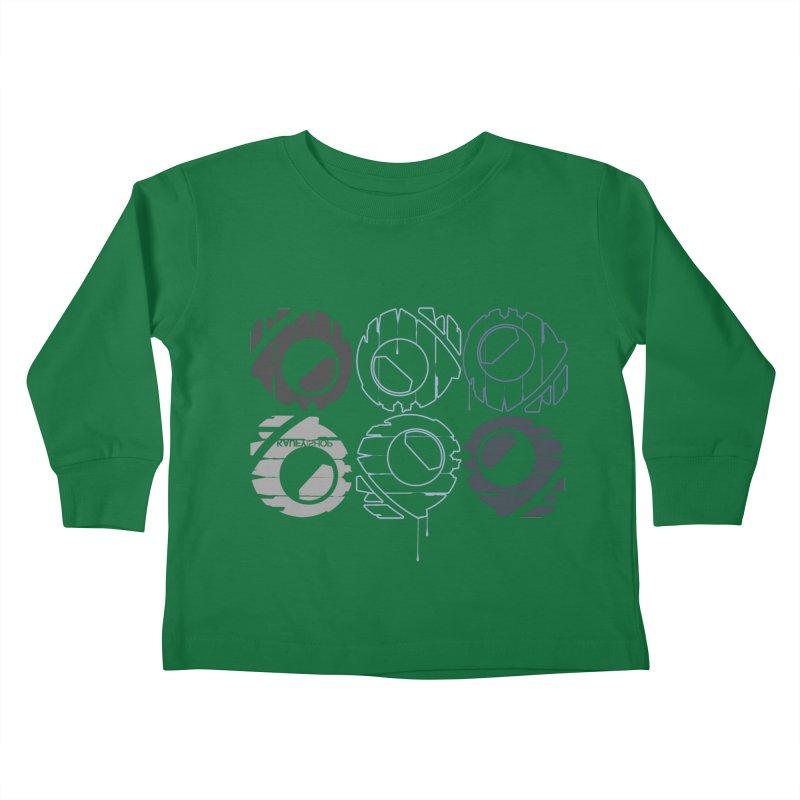 Graphic Design 02 Kids Toddler Longsleeve T-Shirt by KAUFYSHOP
