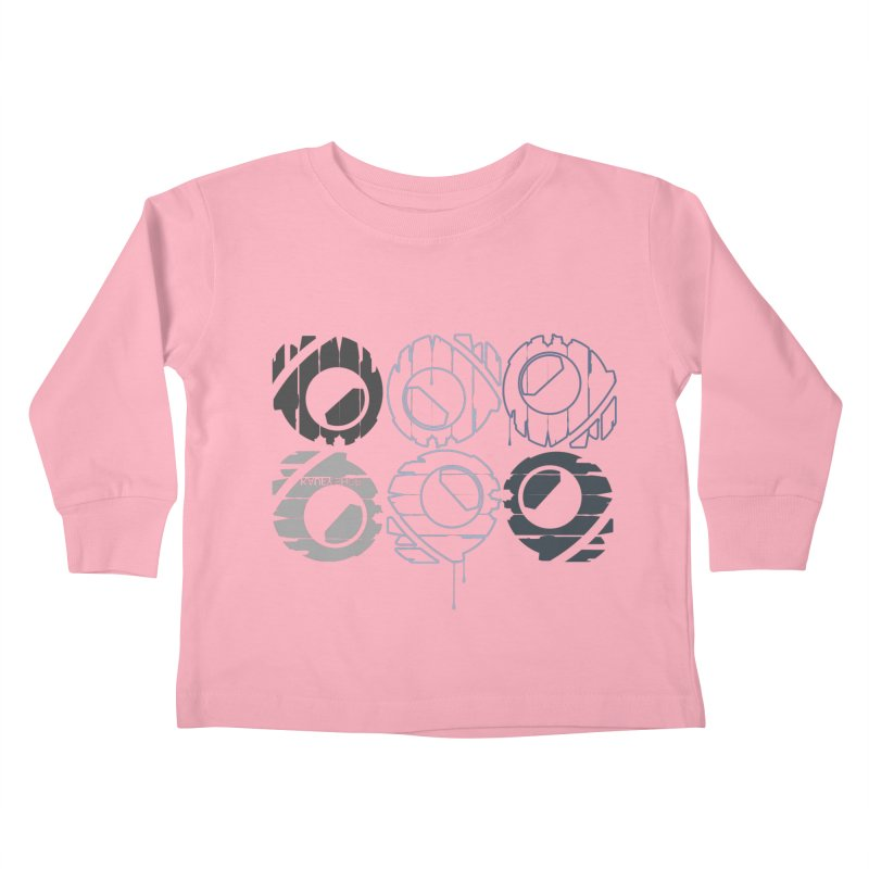 Graphic Design 02 Kids Toddler Longsleeve T-Shirt by KAUFYSHOP