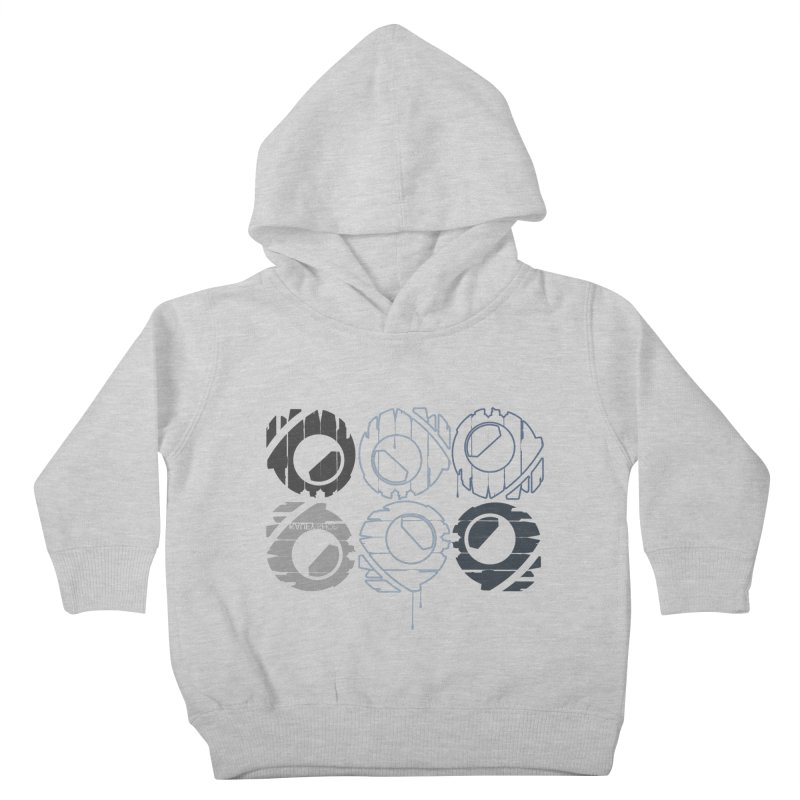 Graphic Design 02 Kids Toddler Pullover Hoody by KAUFYSHOP