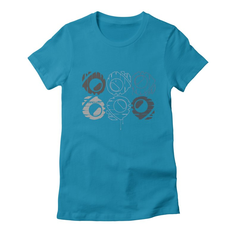 Graphic Design 02 Women's Fitted T-Shirt by KAUFYSHOP
