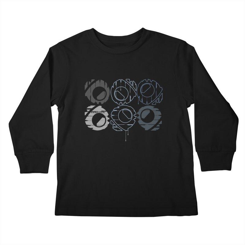 Graphic Design 02 Kids Longsleeve T-Shirt by KAUFYSHOP