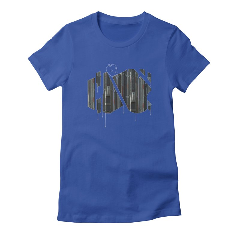 Graphic Design 04 Women's Fitted T-Shirt by KAUFYSHOP